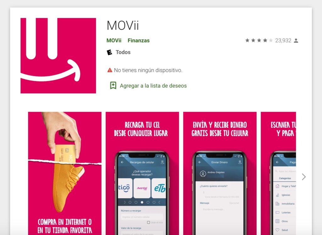 Ingreso Solidario Cuenta en Movii